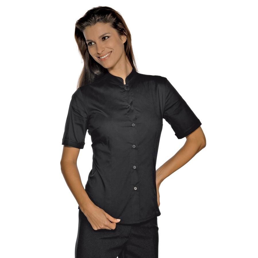 πουκαμισο hollywood μαυρο με κοντο μανικι Ρούχα Εργασίας