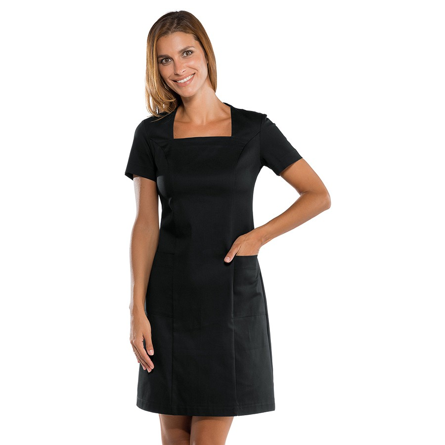 ABITINO STRETCH - Mαύρο Φόρεμα - RECEPTION